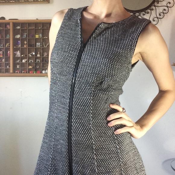 Theory Dresses & Skirts - Sold Buffalo Theory Knit Full Zipper Winter Dress